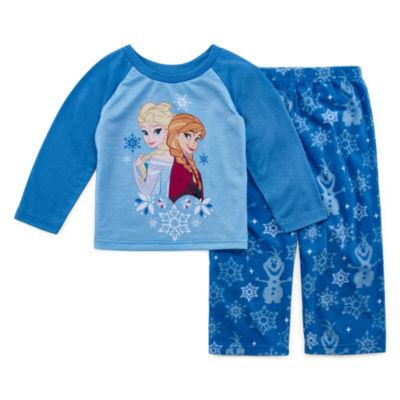 Disney Frozen Family Girls 2 Piece Pajama Set - Toddler