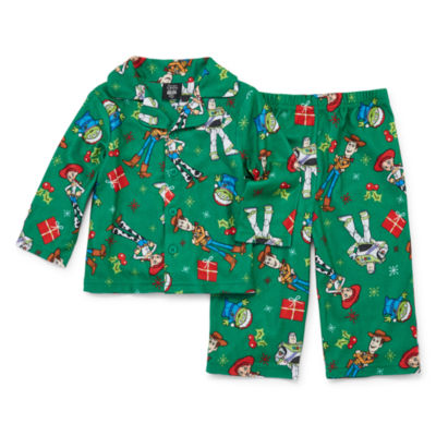 Disney Toy Story Family 2 Piece Coat Front Pajama -Unisex Baby