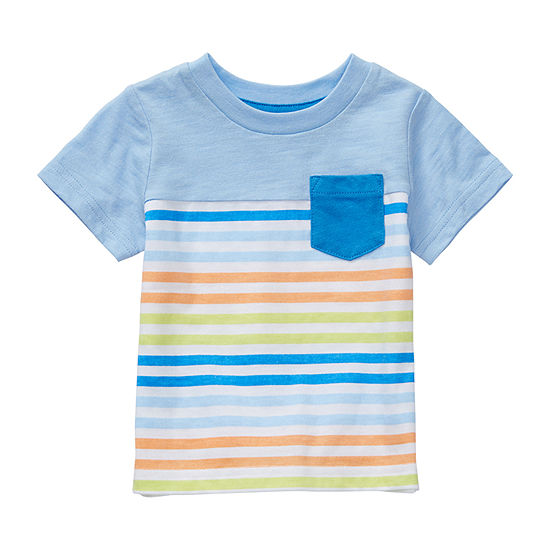 Okie Dokie-Baby Boys Short Sleeve T-Shirt