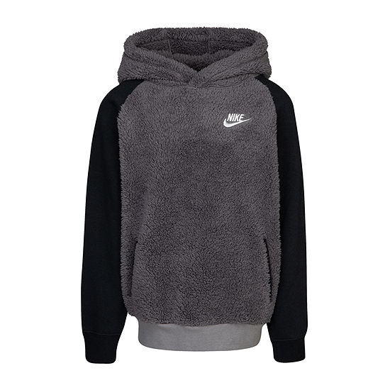 Nike-Toddler Boys Fitted Sleeve Hoodie