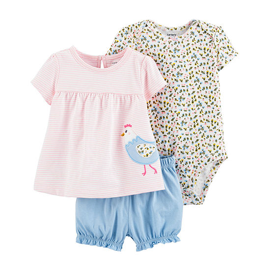 Carter's Baby Girls Short Set