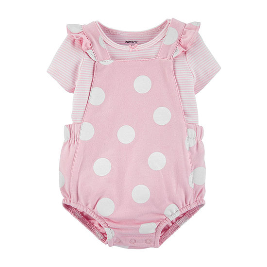 Carter's Baby Girls 2-pc. Shortall Set