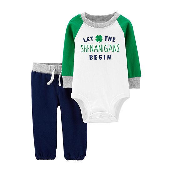 Carter's-Baby Boys 2-pc. Bodysuit Set