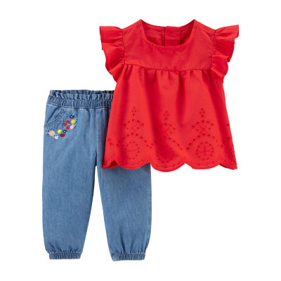 Carter's Girls 2-pc. Pant Set Baby