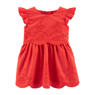Carter's Girls Sleeveless A-Line Dress - Baby