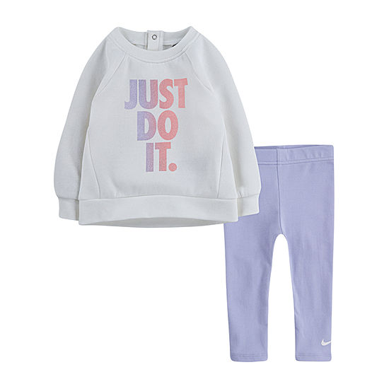 Nike Little Girls 2-pc. Pant Set