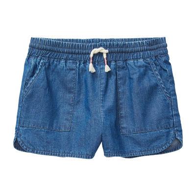 Okie Dokie Girls Pull-On Short Preschool
