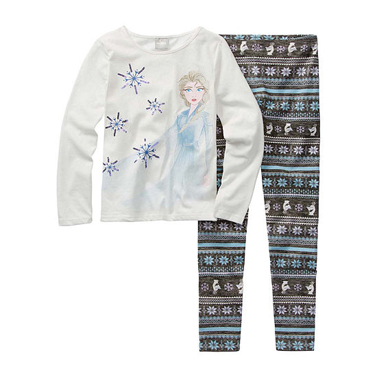 Disney Girls 2-pc. Frozen 2 Legging Set Preschool / Big Kid
