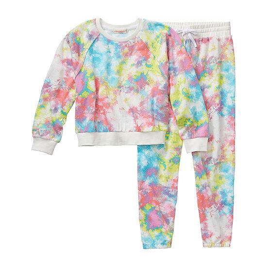 Inspired Hearts Girls 2-pc. Pant Set Preschool / Big Kid