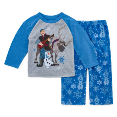 Disney Frozen Family Boys 2 Piece Pajama Set - Toddler