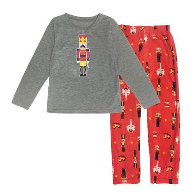 Secret Santa The Nutcracker Family Boys 2-pc. Pant Pajama Set Preschool / Big Kid