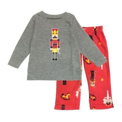 Secret Santa The Nutcracker Family Boys 2-pc. Pant Pajama Set Toddler