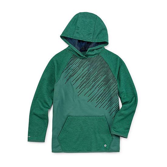 Xersion Performance Fleece - Little Kid / Big Kid Boys Raglan Sleeve Hoodie
