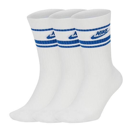 Nike Essentials 3 Pair Crew Socks-Mens