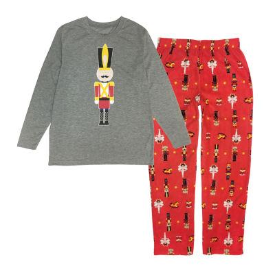 Secret Santa The Nutcracker Family Mens 2-pc. Pant Pajama Set