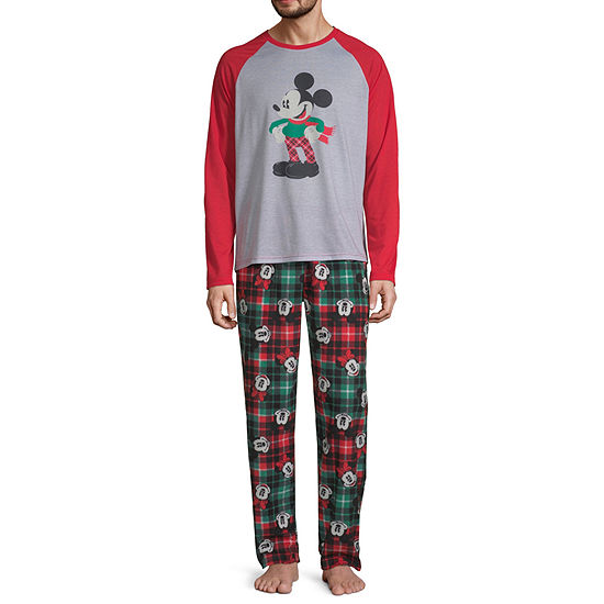 Disney Collection Mickey Mouse Family Mens 2-pc. Mickey Mouse Pant Pajama Set