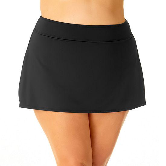 Liz Claiborne Swim Skirt Swimsuit Bottom Plus