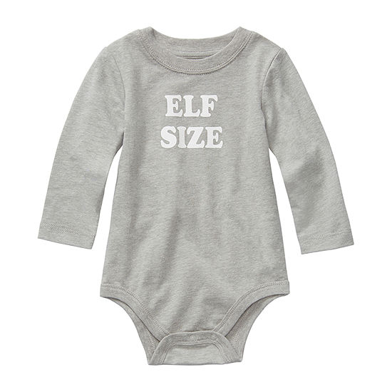 North Pole Trading Co. Baby Unisex Crew Neck Long Sleeve Graphic T-Shirt