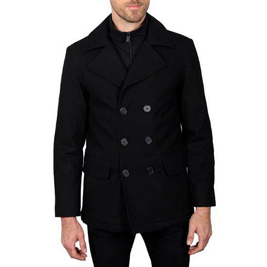 Haggar Water Repellant Midweight Peacoat