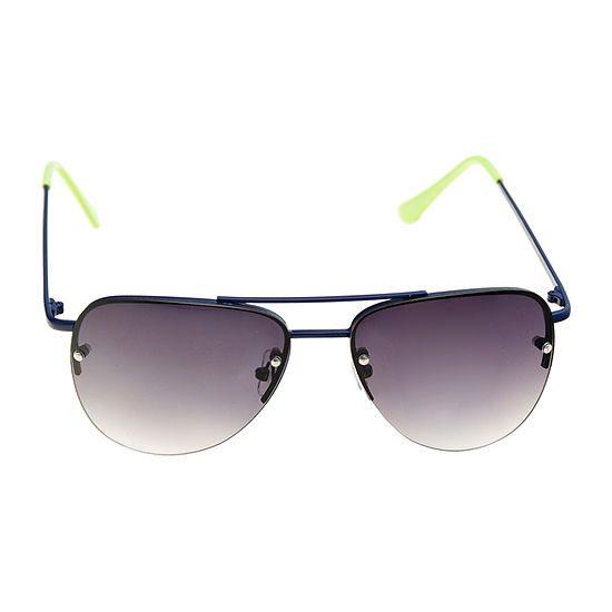 Arizona® Aviator Sunglasses with Lime Green Temples