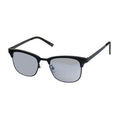 JF J.Ferrar Mens Half Frame Square Sunglasses