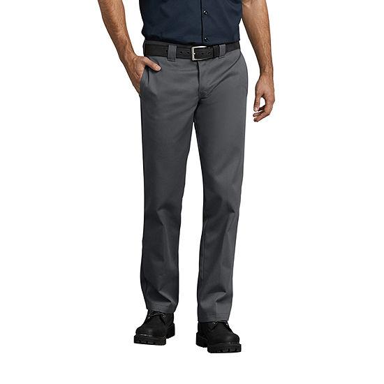 Dickies® Slim Fit Straight Leg Work Pants