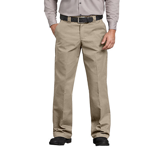 Dickies® Flex Relaxed Fit Straight Leg Twill Comfort Waist Pants