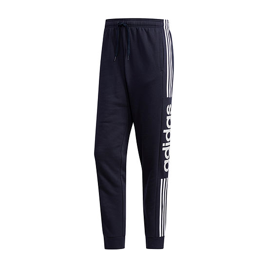 adidas Mens Athletic Fit Workout Pant - Big and Tall