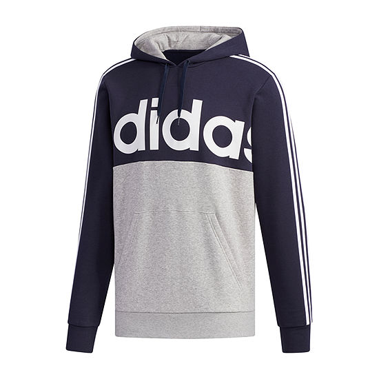 adidas Big and Tall Mens Long Sleeve Hoodie