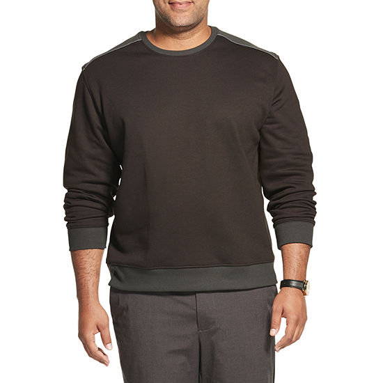 Van Heusen Big and Tall Mens Crew Neck Long Sleeve Sweatshirt