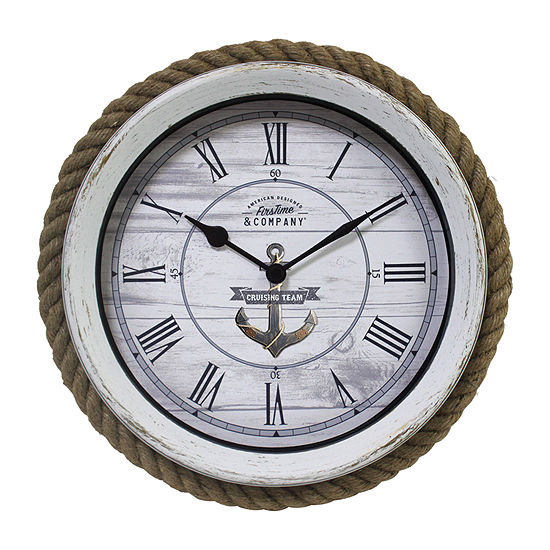 Firstime Dock Rope Wall Clock