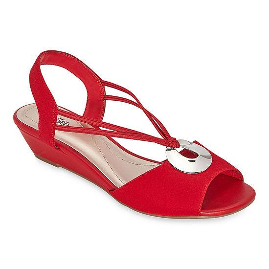 east 5th Womens Ravena Wedge Sandals