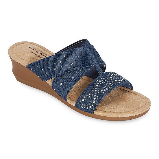 east 5th Womens Ginko Wedge Sandals