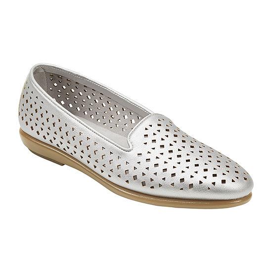 Aerosoles Womens You Betcha Round Toe Loafers