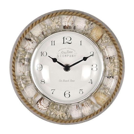 Firstime Isle Sands Wall Clock
