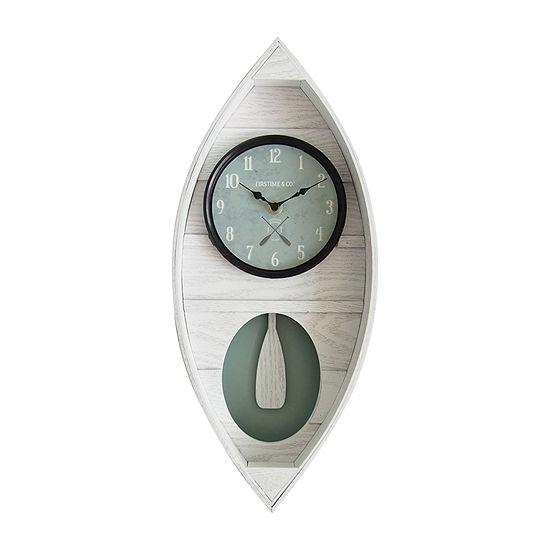 Firstime Ocean Canoe Wall Clock
