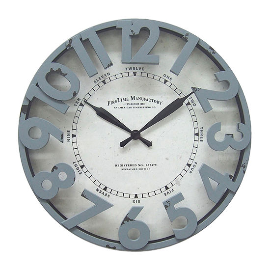 Firstime Antique Harbor Wall Clock