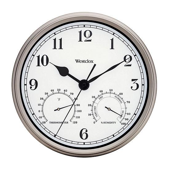 "Westclox 12"" Indoor And Outdoor Wall Clock"