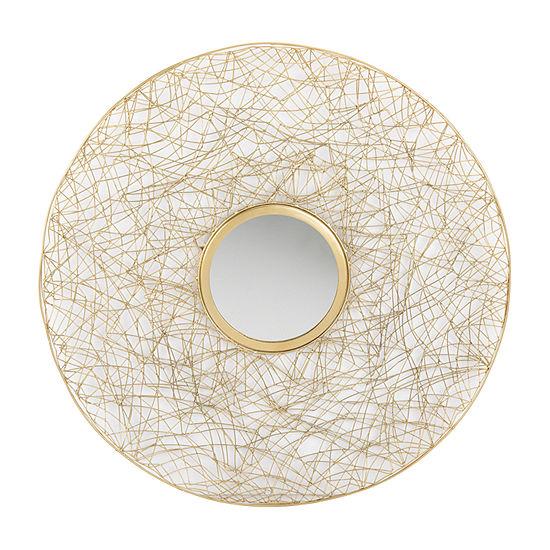 Safavieh Harner Brass Wall Mirror