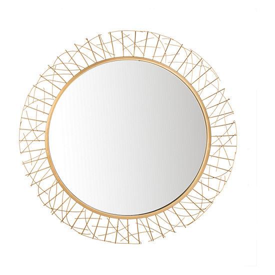 Safavieh Elsie Gold Wall Mirror