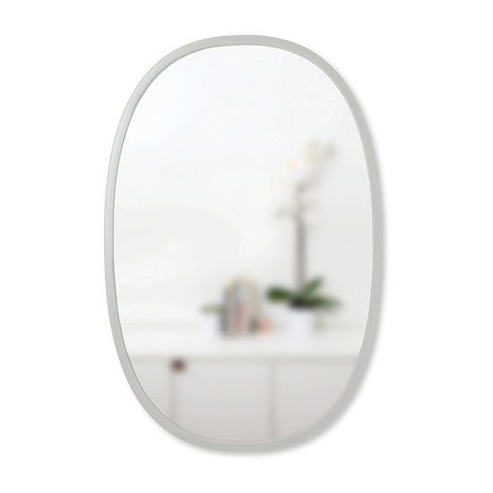 Umbra Hub Oval 24x36 Wall Mount Oval Wall Mirror