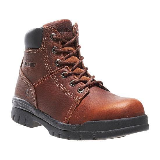 Wolverine Mens Work Boots Flat Heel