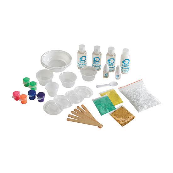 Discovery MindBlown Slimeology 101: 5-in-1 DIY Slime Kit