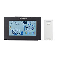 Deals on Brookstone Touch Display Digital Weather Forecaster