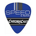 ChromaCast Speed Series 20 Pack Celluloid Guitar Picks