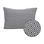 Stratton Home Decor Jacquard Rectangular Throw Pillow