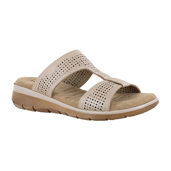 Easy Street Surry Womens Footbed Sandals