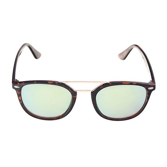 JF J.Ferrar Mens Full Frame Rectangular Sunglasses
