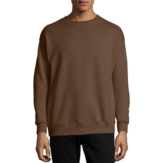 Hanes Ecosmart® Mens Crew Neck Long Sleeve Sweatshirt