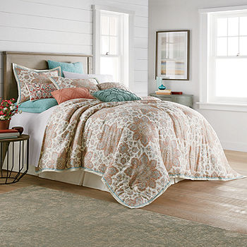 JCPenney Home Adelaide 4 pc. Comforter Set, Color: Multi   JCPenney